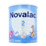 NOVALAC LAIT 2 BOITE 800G à Bordeaux