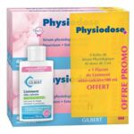 Physiodose sérum physiologique 100*5ML + Liniment 100ml offert à Bordeaux