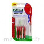Acheter GUM TRAV - LER, 0,8 mm, manche rouge , blister 4 à Bordeaux