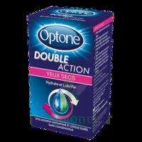 Optone Double Action Solution Oculaire Yeux Secs Fl/10ml à Bordeaux