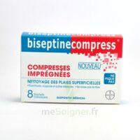 Biseptinecompress Compressses Impregnees, Bt 8 à Bordeaux