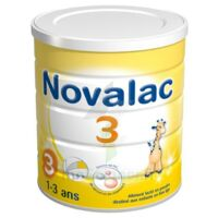 Novalac 3 Croissance lait en poudre 800g à Bordeaux