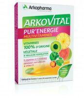 Acheter Arkovital Pur'Energie Multivitamines Comprimés dès 6 ans B/30 à Bordeaux
