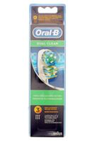 BROSSETTE DE RECHANGE ORAL-B DUAL CLEAN x 3 à Bordeaux