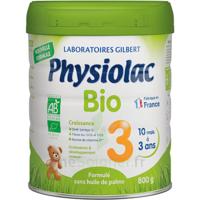 Physiolac Bio Lait 3éme Age 800g à Bordeaux