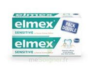 ELMEX SENSITIVE DENTIFRICE, tube 75 ml, pack 2 à Bordeaux