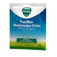 PASTILLES MEDICINALES VICKS Past à sucer menthol eucalyptus Sach/18 à Bordeaux