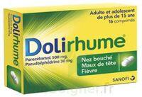 DOLIRHUME PARACETAMOL ET PSEUDOEPHEDRINE 500 mg/30 mg, comprimé à Bordeaux