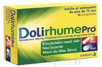 DOLIRHUMEPRO PARACETAMOL, PSEUDOEPHEDRINE ET DOXYLAMINE, comprimé à Bordeaux
