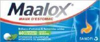 MAALOX HYDROXYDE D'ALUMINIUM/HYDROXYDE DE MAGNESIUM 400 mg/400 mg Cpr à croquer maux d'estomac Plq/60 à Bordeaux