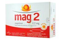 MAG 2 SANS SUCRE 122 mg, solution buvable en ampoule édulcoré à la saccharine sodique à Bordeaux