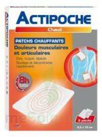 Actipoche Patch chauffant douleurs musculaires B/2 à Bordeaux