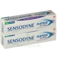 Sensodyne Rapide Pâte Dentifrice Dents Sensibles 2*75ml à Bordeaux
