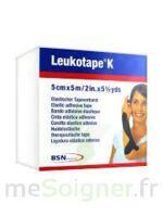 Leukotape K Sparadrap Noir 5cmx5m à Bordeaux