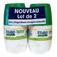Etiaxil Végétal Déodorant 24h 2roll-on/50ml à Bordeaux