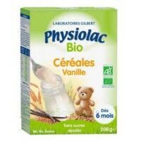 Physiolac Céréales Vanille Bio B/200g à Bordeaux