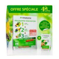 Arkofluides Programme Minceur Bio 30 ampoules/10ml + Arkogélules Konjac B/45 Offre spéciale 40 ans de santé naturelle à Bordeaux